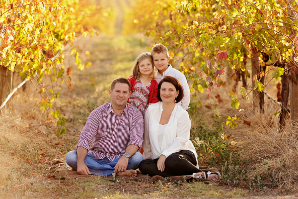 Autumn Family Photography in the Mclaren Vale Wine Region