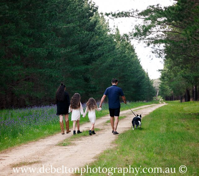 A fun family session included walks in Kuipto Forest?
