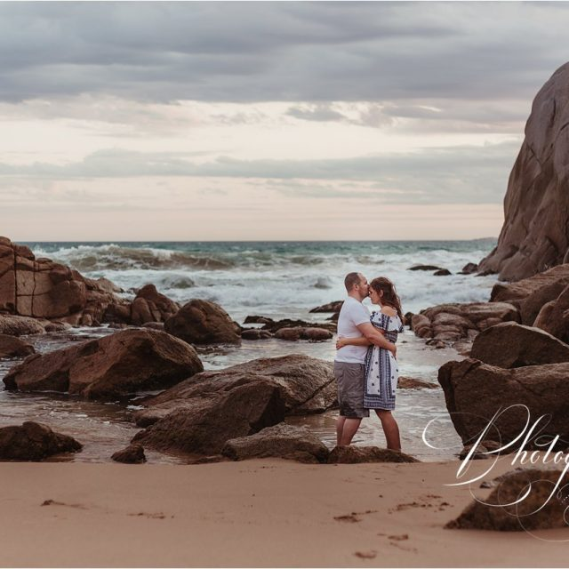 An adventurous engagement session at Port Elliott