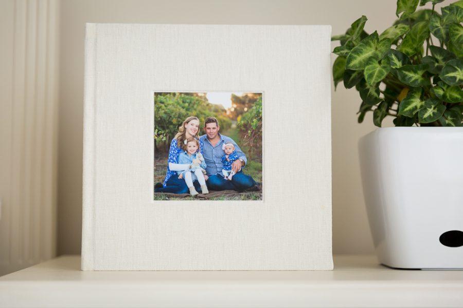 custom designed family heirloom albums