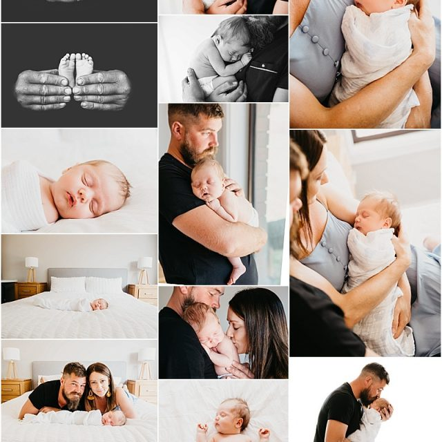 Meet baby Zane – In home Lifestyle newborn session